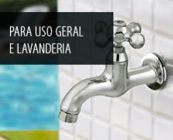 Para uso geral e lavanderia